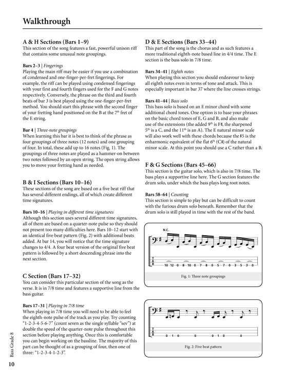 Rockschool - Shop - Bass Grade 8 | RSL