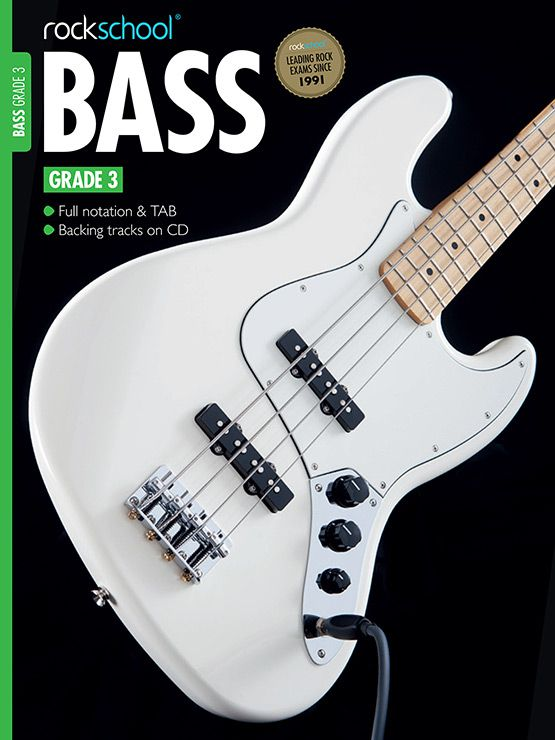 Rockschool - Shop - Bass Grade 3 | RSL