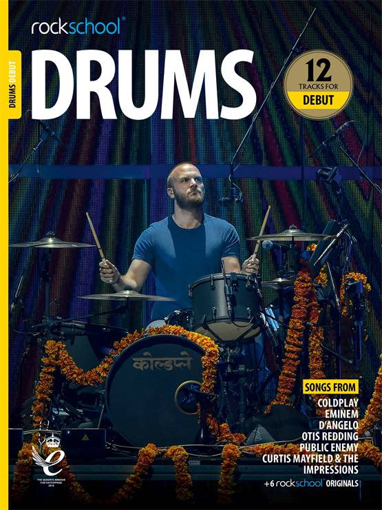Drums Debut Book Cover