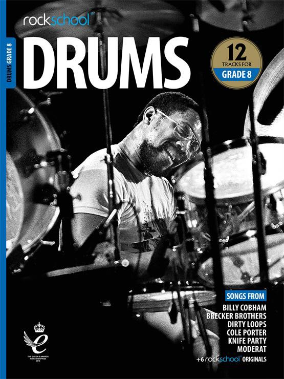 Drums Grade 8 Book Cover