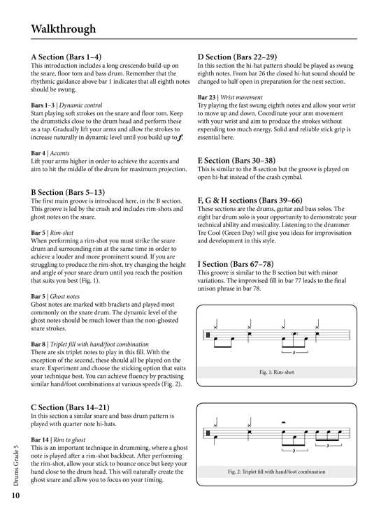 Drums Grade 5 Sample # 3