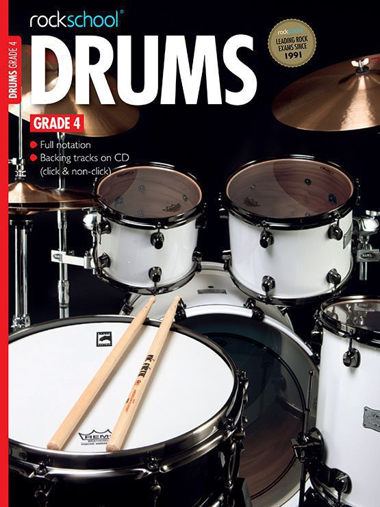 Drums Grade 4 Book Cover
