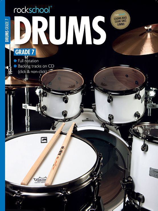 Drums Grade 7 Book Cover