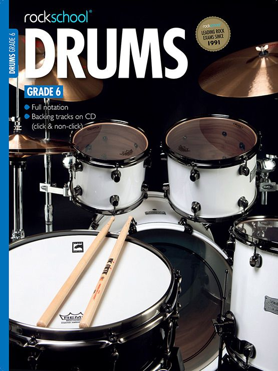Drums Grade 6 Book Cover