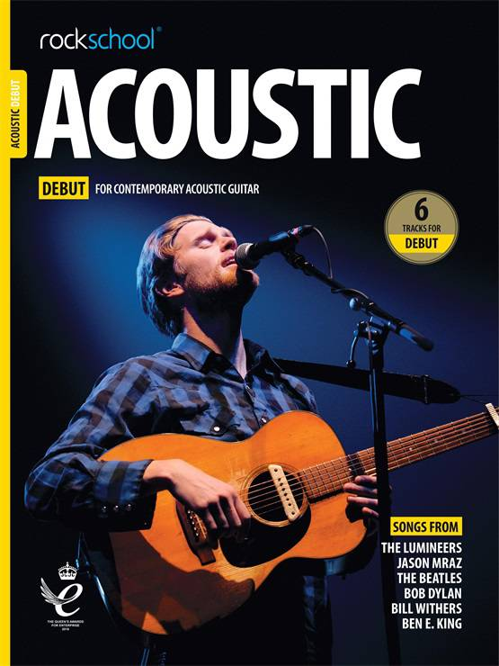 Acoustic Guitar Debut Book Cover