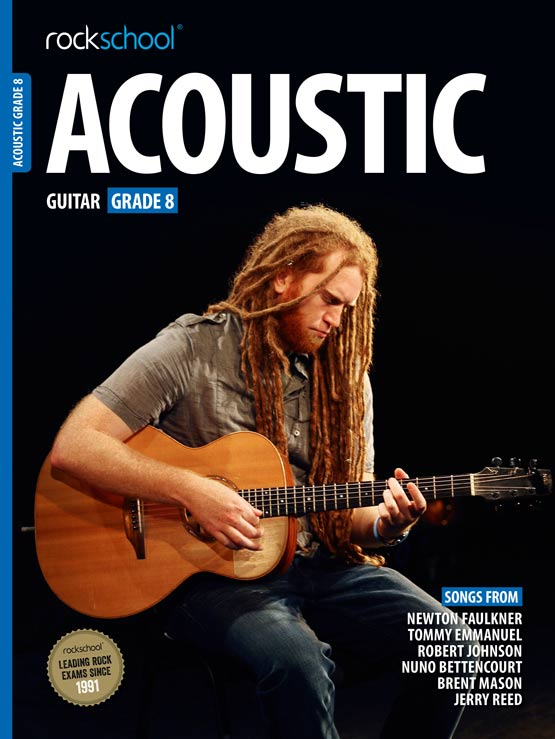 Acoustic Guitar Grade 8 Book Cover