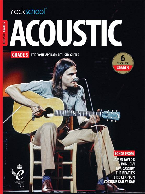 Acoustic Guitar Grade Five Book Cover