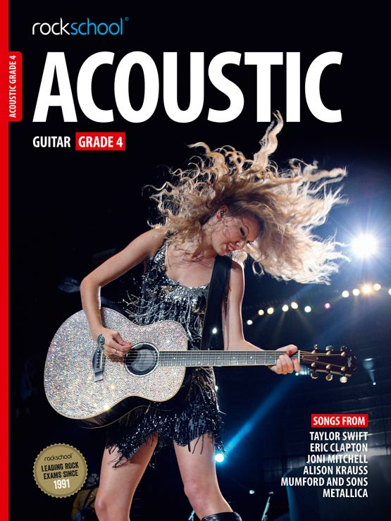 Acoustic Guitar Grade 4 Book Cover