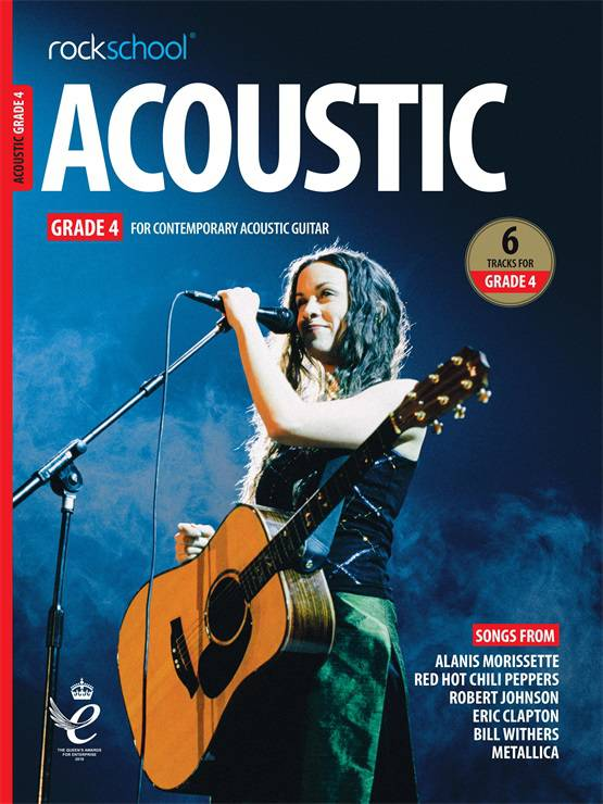 Acoustic Guitar Grade Four Book Cover