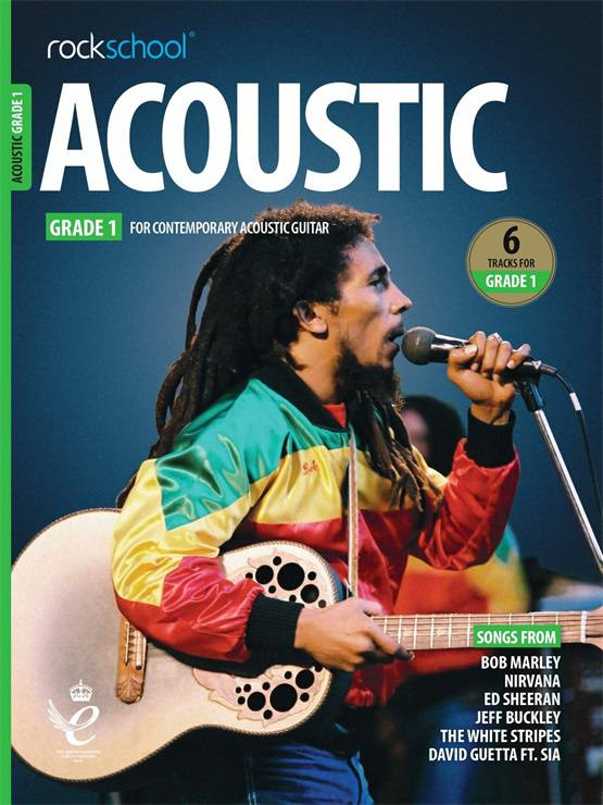 Acoustic Guitar Grade One Book Cover