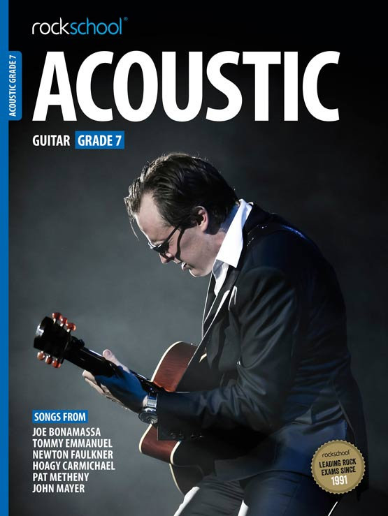 Acoustic Guitar Grade 7 Book Cover