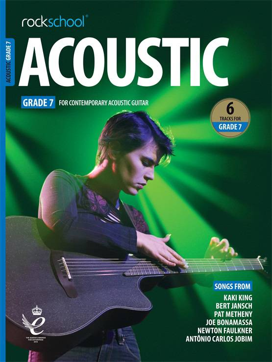 Acoustic Guitar Grade Seven Book Cover