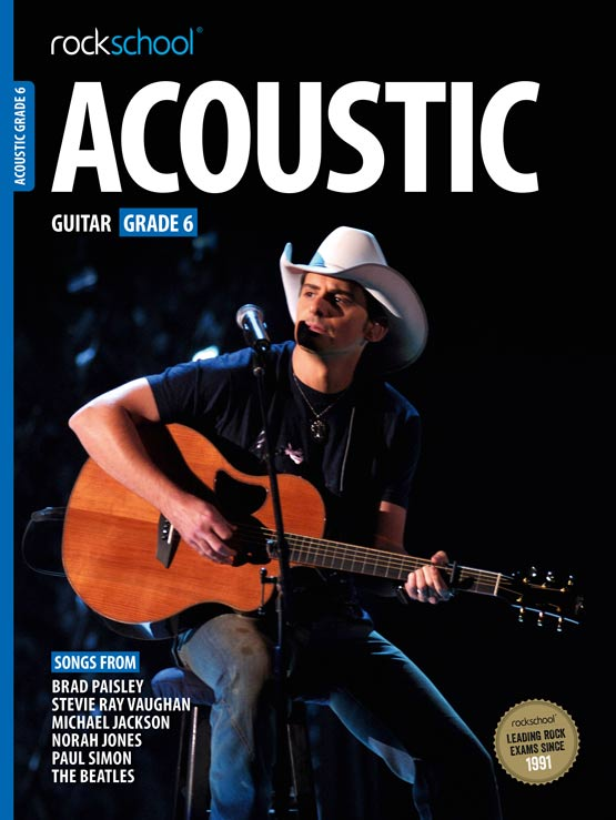 Acoustic Guitar Grade 6 Book Cover