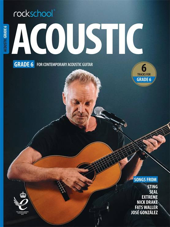 Acoustic Guitar Grade Six Book Cover