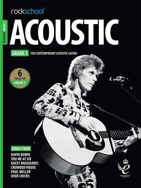 Acoustic Guitar Grade Three Book Cover