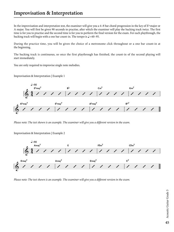 Rockschool - Shop - Acoustic Guitar Grade 3 | RSL