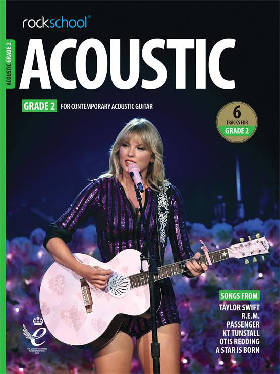 Acoustic Guitar Grade 2 Book Cover