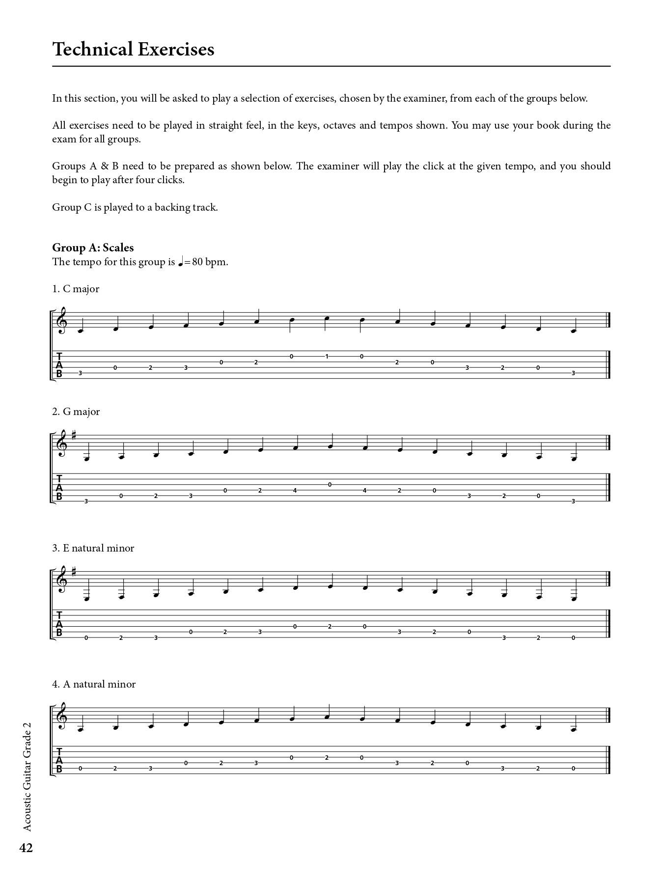 Acoustic Guitar Grade 2 Sample # 3