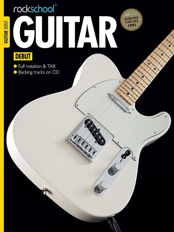 Electric Guitar Debut Book Cover