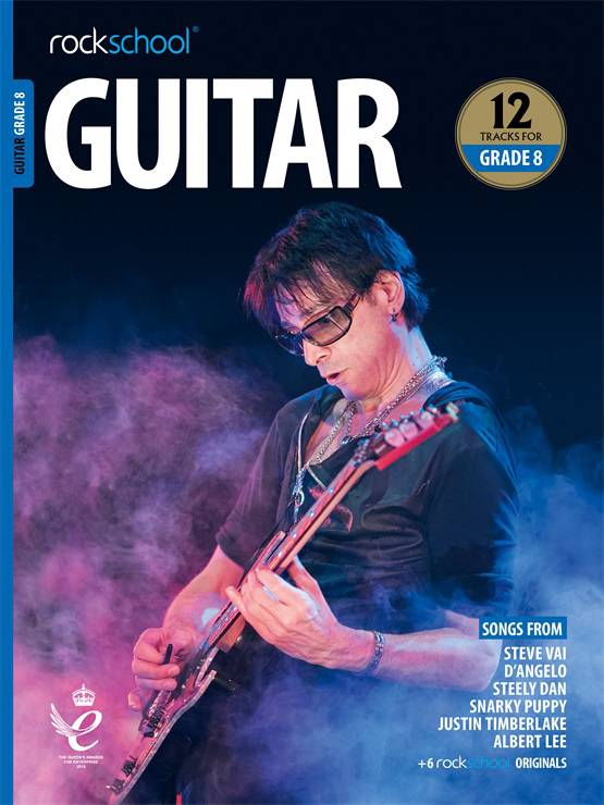 Guitar Grade 8 Book Cover
