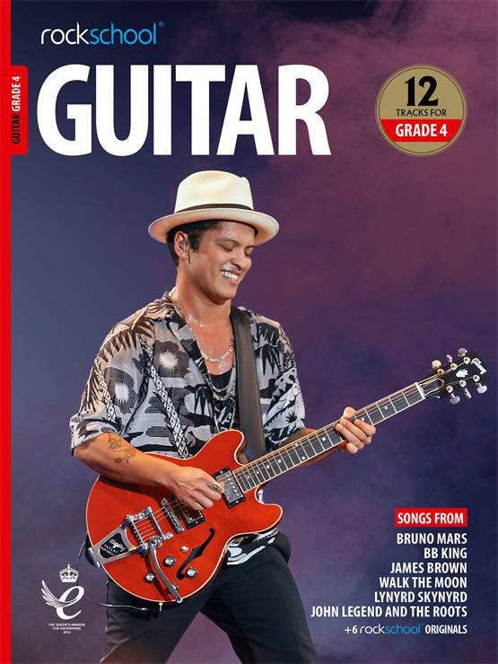 Guitar Grade 4 Book Cover