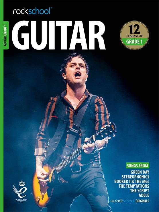 Guitar Grade 1 Grade Book Cover