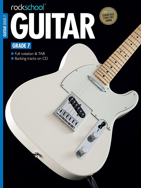 Electric Guitar Grade 7 Book Cover
