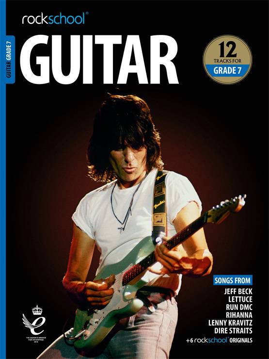 Guitar Grade 7 Book Cover