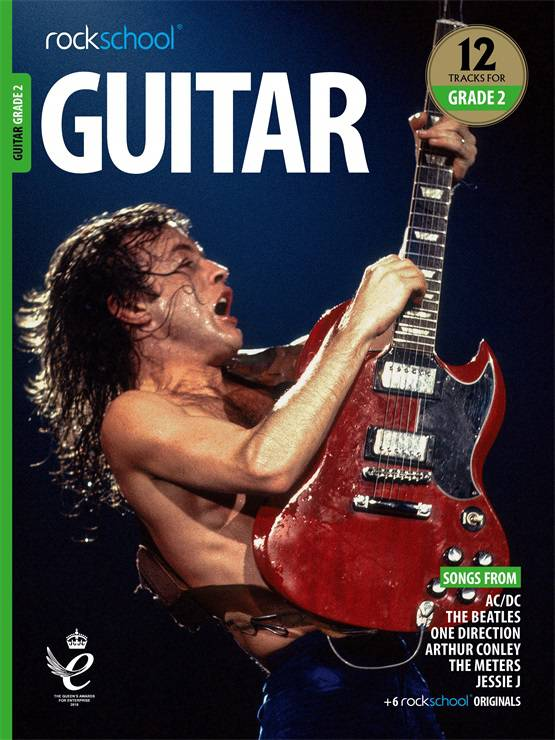Electric Guitar Grade 2 Book Cover