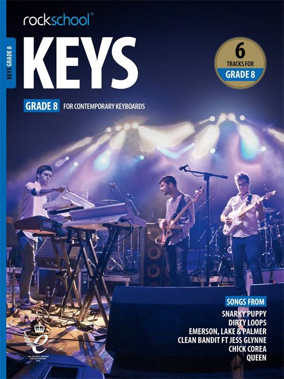 Keys Grade Eight Book Cover