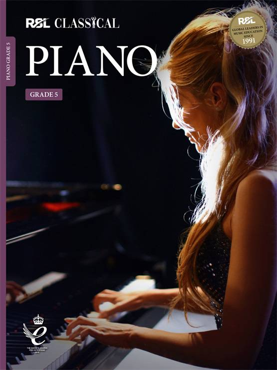 Classical Piano Grade 5 Book Cover