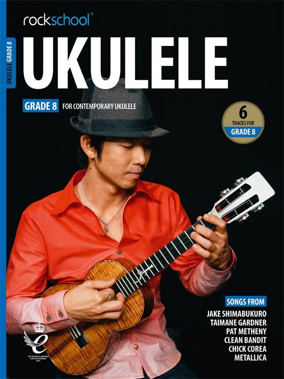 Ukulele Grade Eight Book Cover