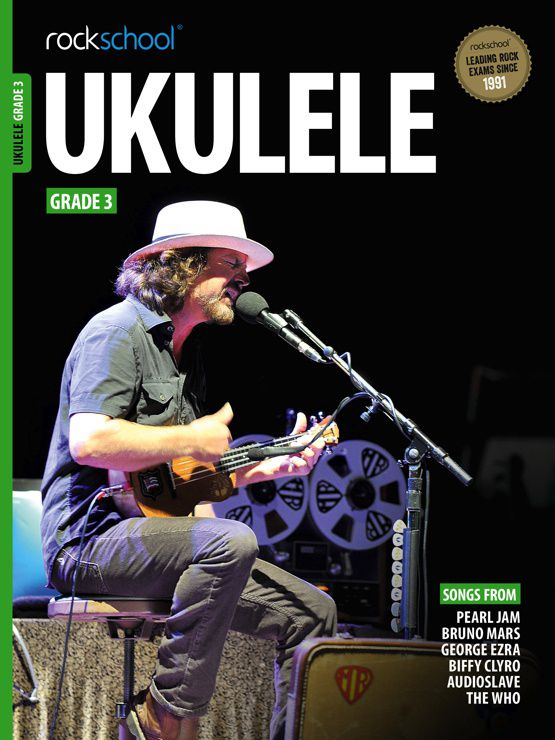 Ukulele Grade 3 Book Cover