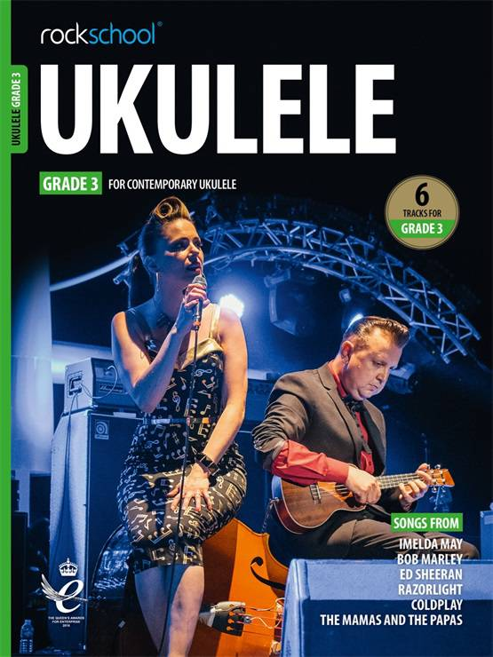 Ukulele Grade Three Book Cover