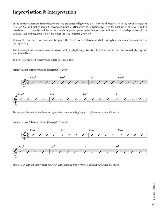 Ukulele Grade 3 Sample # 3
