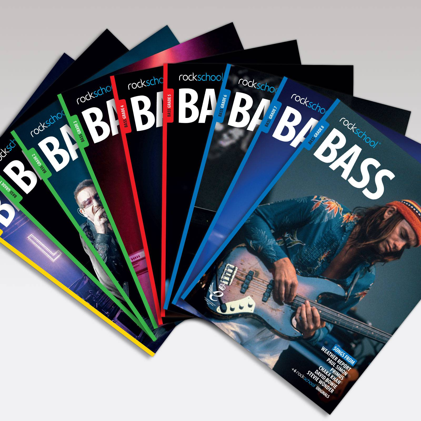 Bass Grade Book Covers