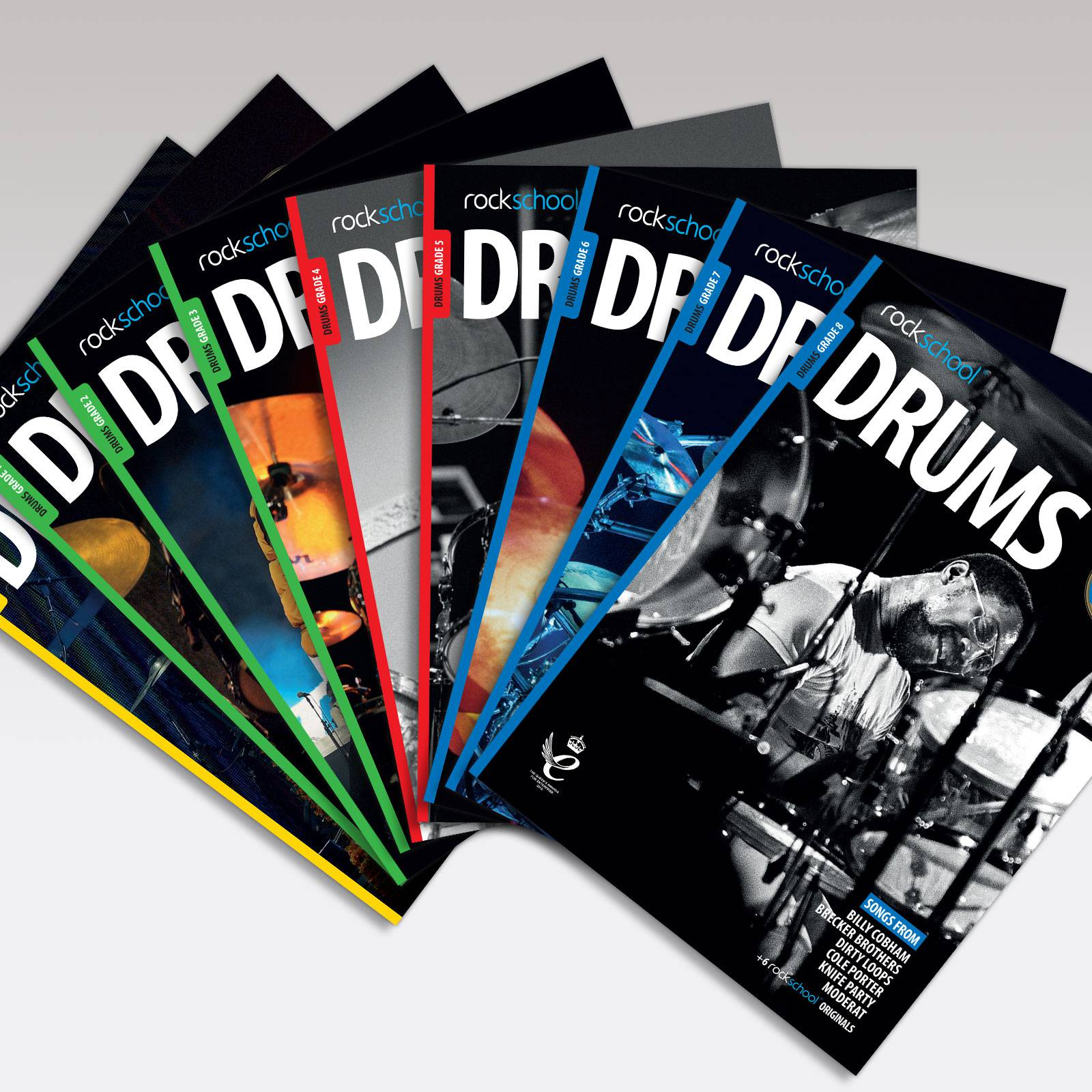 Drums Grade Book Covers