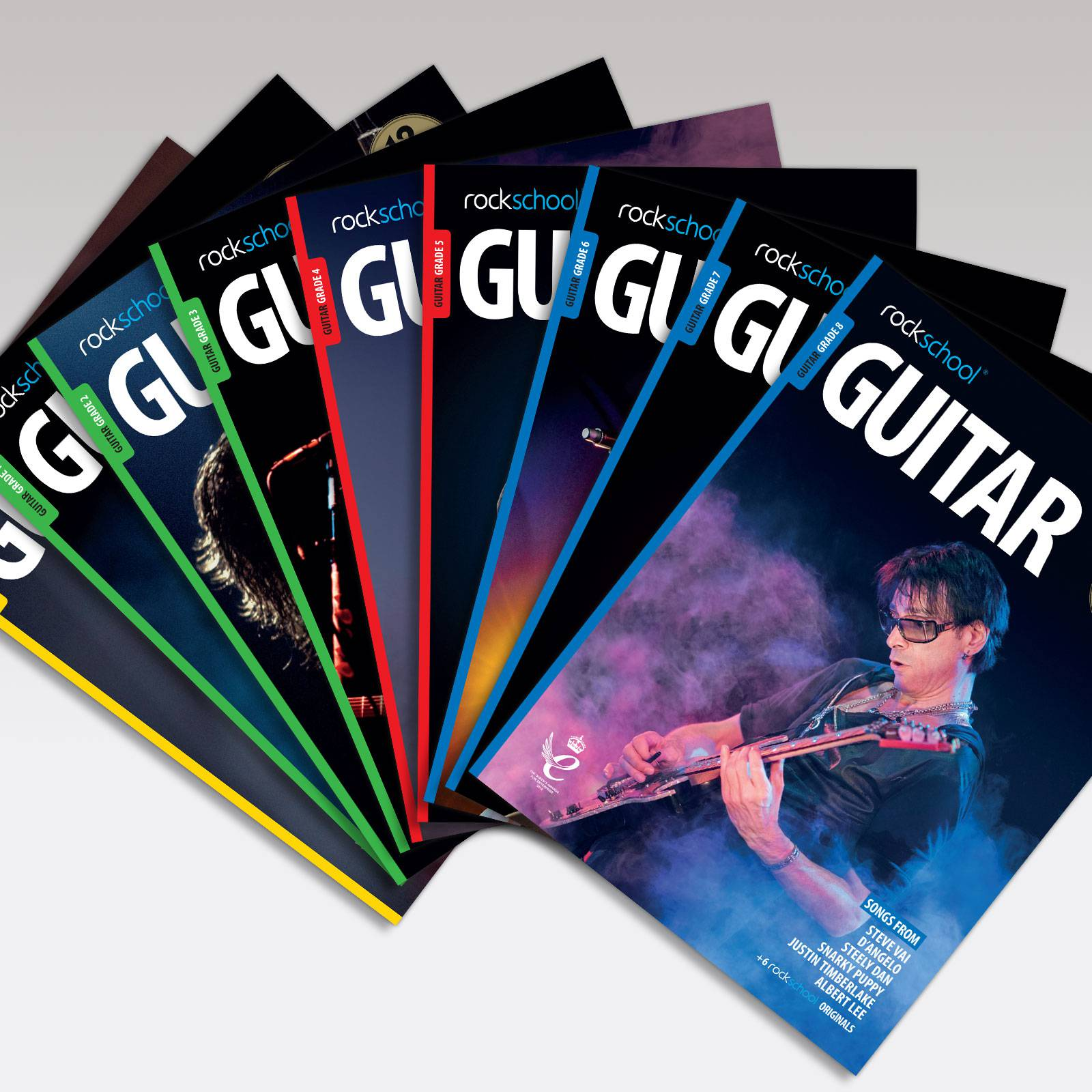 Electric Guitar Grade Book Covers