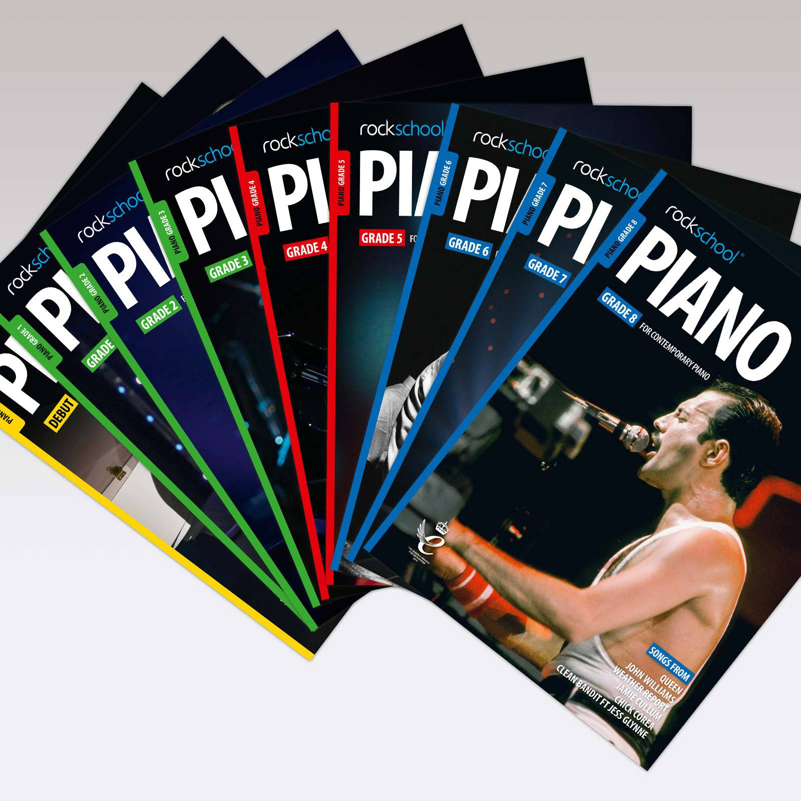 Piano Grade Book Covers
