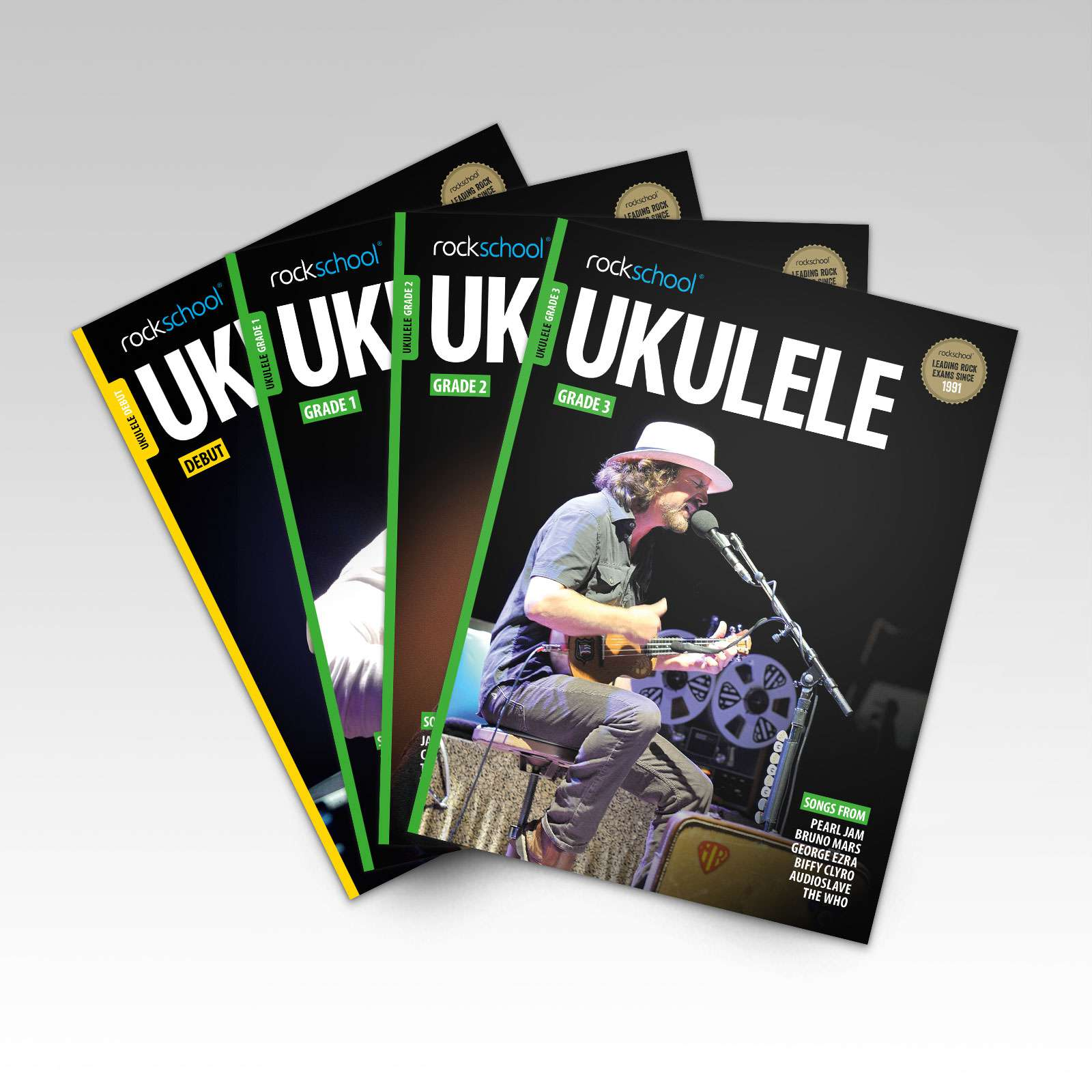 Ukulele Grade Book Covers