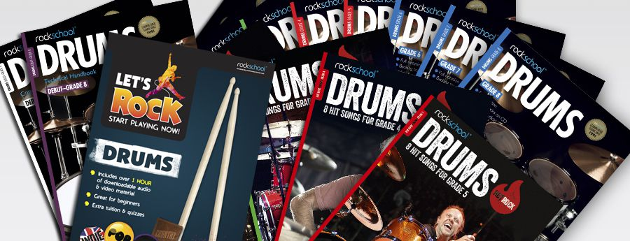 Drums book covers
