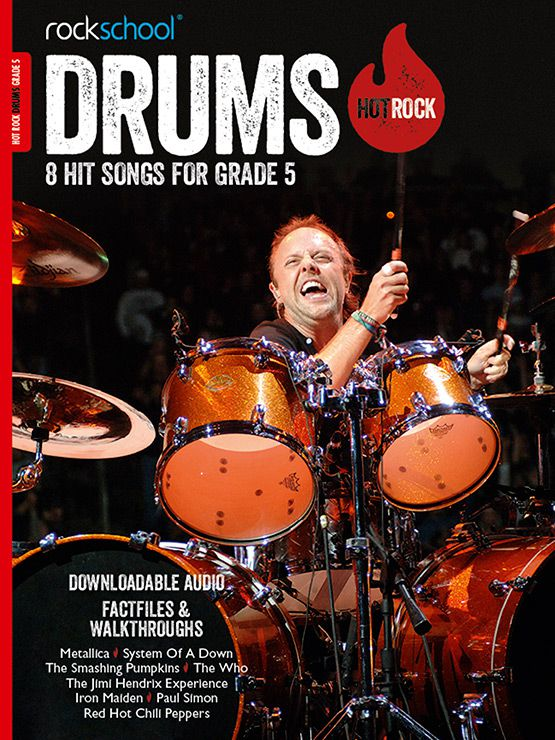 Hot Rock Drums Grade 5 Book Cover