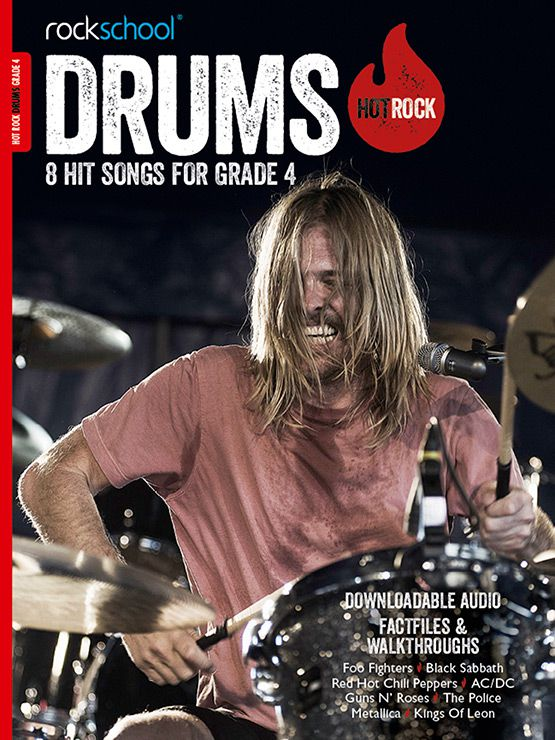Hot Rock Drums Grade 4 Book Cover