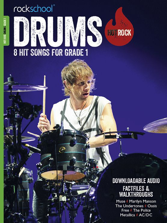 Hot Rock Drums Grade 1 Book Cover