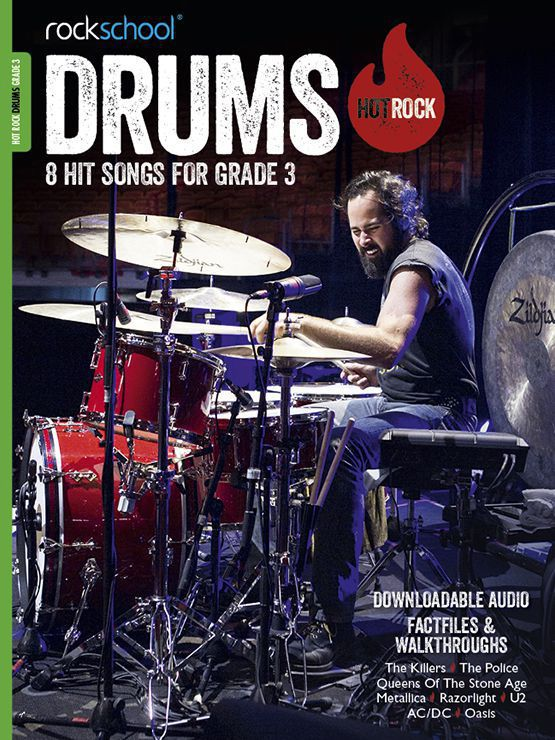 Hot Rock Drums Grade 3 Book Cover