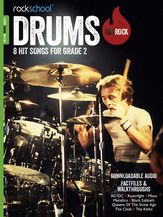 Hot Rock Drums Grade 2 Book Cover