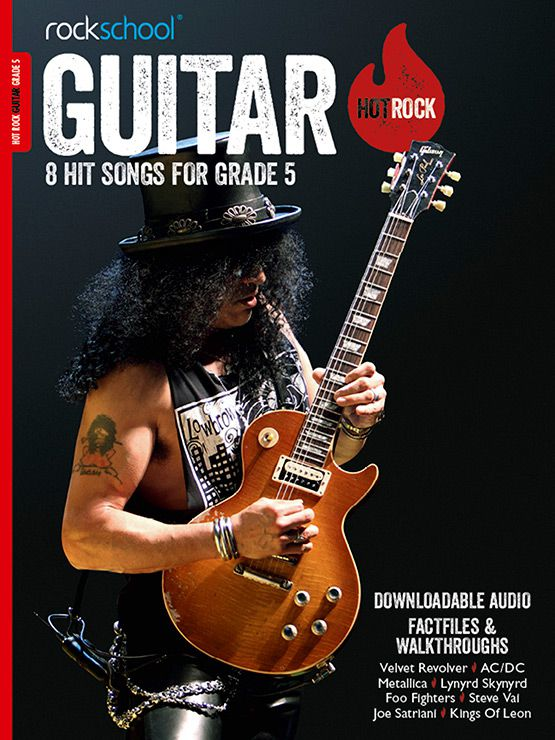 Hot Rock Guitar Grade 5 Book Cover