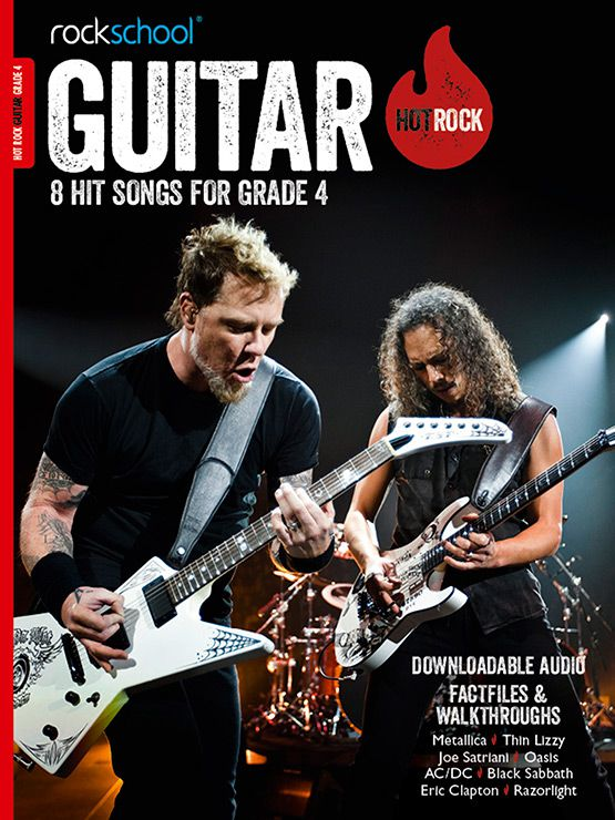 Hot Rock Guitar Grade 4 Book Cover