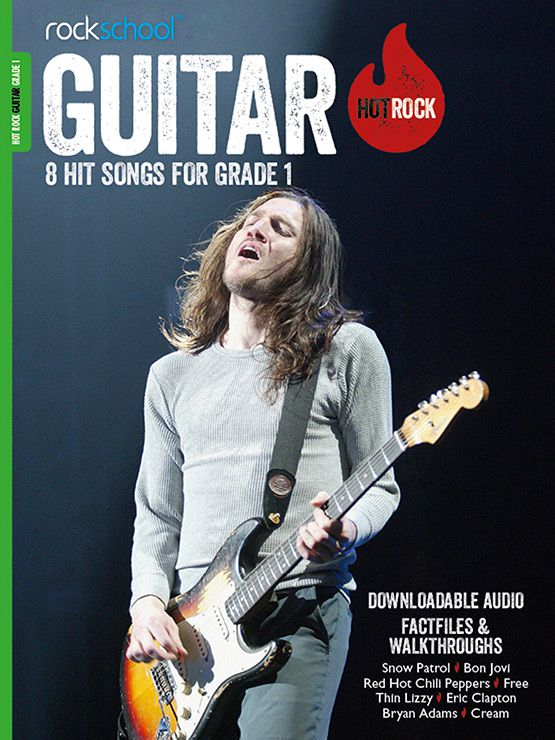 Hot Rock Guitar Grade 1 Book Cover