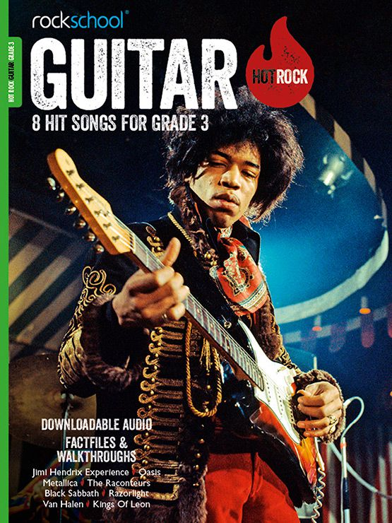 Hot Rock Guitar Grade 3 Book Cover